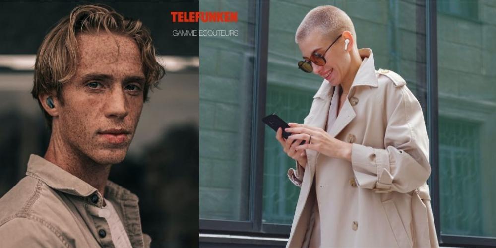 TLC 14 OREILLETTES SANS FIL TELEFUNKEN
